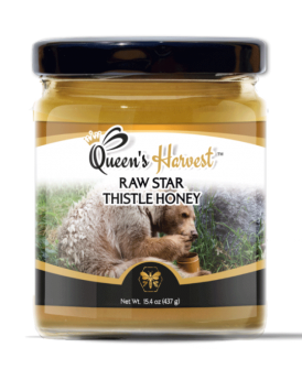 Raw Star Thistle Honey