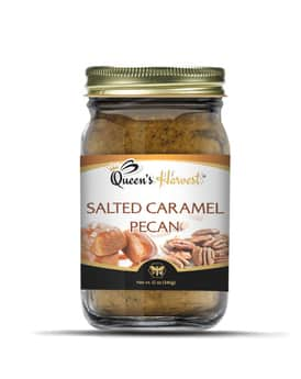 Salted Caramel Pecan Honey Butter