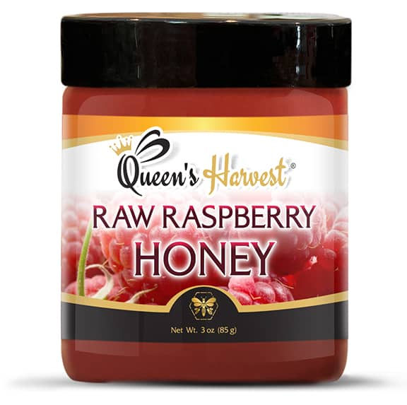 Raw Raspberry Blossom Honey 3 oz