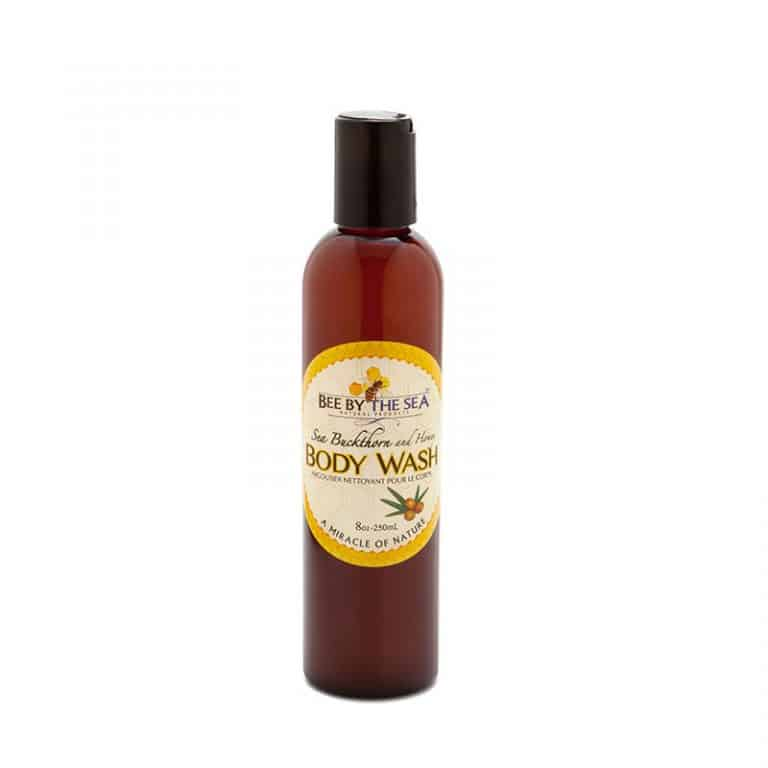 Bee By The Sea Body Wash Bottle 8 ounces