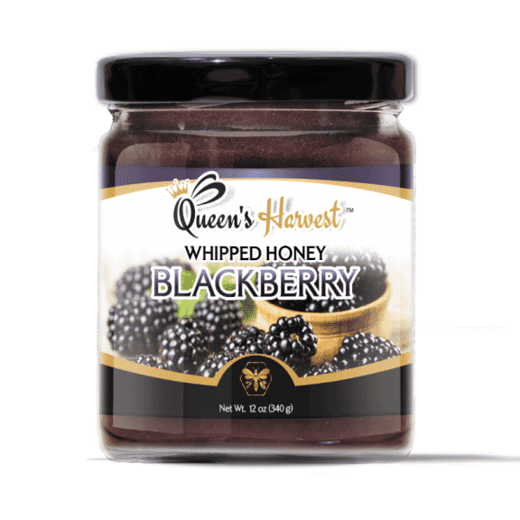 Blackberry Whipped Honey