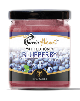 Gourmet Kosher Blueberry Whipped Honey