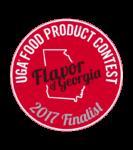 2017 Flavor of Georgia Finalist Award Certificate
