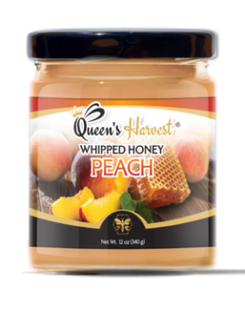 Kosher Peach Whipped Honey