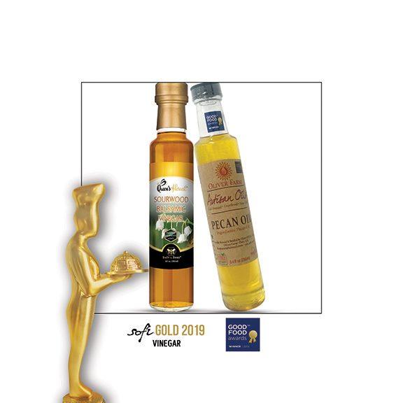 Champion Sourwood Vinegar and Pecan Oil