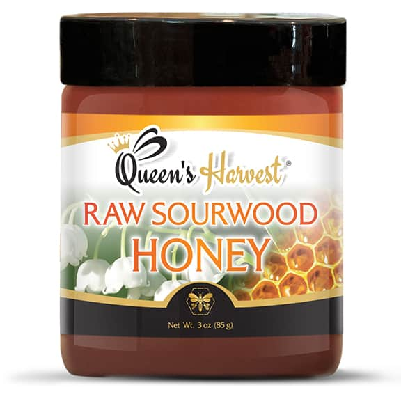 Raw Sourwood Honey 3 oz