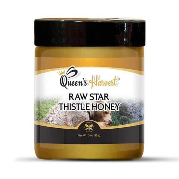 Star Thistle Raw Honey