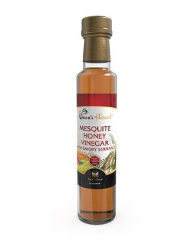Mesquite Honey Vinegar w Smoky Serrano