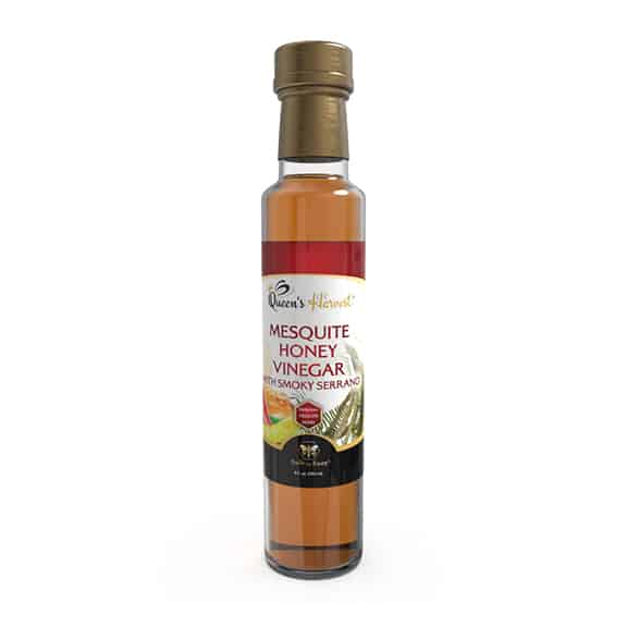 Mesquite Honey Vinegar w Smoky Serrano